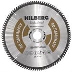 Диск пильный по ламинату Hilberg Industrial 255*30 мм, 100Т зубов