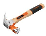 Молоток-гвоздодер (ручка 40 см, 0.56 кг), магнитный паз для гвоздей, TRUPER MO-20