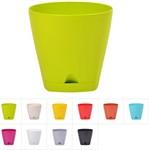 Кашпо для цветов 0,65 л, DRINA Urban, цвета в ассортименте