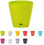 Кашпо для цветов 1,35 л, DRINA Urban, цвета в ассортименте
