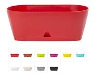 Ящик балконный для цветов Urban, 25х11,5 см, DRINA (цвета в ассортименте)