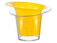 """Кашпо для орхидей """"АДЕЛЬ"""", 1 л, жёлтый, IDEA"""