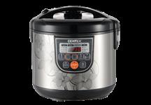 Мультиварка Centek CT-1498 (чёрный/сталь,700Вт, 5.0л, 10+28 программ, мультишеф )