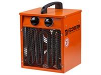 Тепловентилятор электрический Ecoterm EHC-02/1C, 2 кBт нагрев до 98 м3
