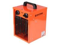 Тепловентилятор электрический Ecoterm EHC-02/1E, 2 кBт нагрев до 98 м3