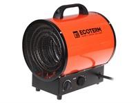 Тепловентилятор электрический Ecoterm EHR-09/3E, 9 кBт, обогрев до 389 м3