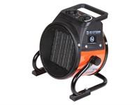 Тепловентилятор электрический Ecoterm EHR-02/1D, 2 кBт нагрев до 98 м3