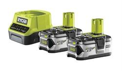 Аккумуляторы с зарядным устройством RYOBI RC18120-240 (4,0 Ач, 18 В)
