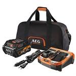 Набор AEG SET L1860RHDBLK (18 В Li-Ion, 6 Ач, зарядное, сумка)