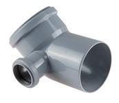Колено (отвод) для внутренней канализации 110/50х45 левый РосТурПласт