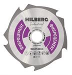 Диск пильный по фиброцементу Hilberg Industrial 190*30*1,6/2,3 мм, 5T зубов