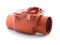 Обратный клапан для наружной канализации 110 РосТурПласт (гарантия 5 лет)