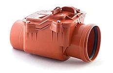 Обратный клапан для наружной канализации 160 РосТурПласт (гарантия 5 лет)