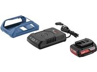 Комплект - аккумулятор 18.0 В GBA18 V 1 шт. + беспроводное зарядное устройство GAL 1830 W-UNI