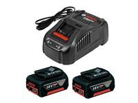 Комплект - аккумулятор 18.0 В GBA18 V 2 шт. + зарядное устройство GAL1880CV