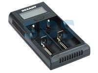 Устройство зарядное универсальное для 2-х АКБ с жк дисплеем Rexant i2