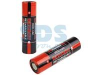 Аккумулятор высокоемкостный Rexant 18650 unprotected 20 А Li-ion 3000 mAh, 3.7 В - 2 шт