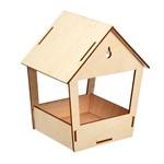 Кормушка для птиц сборная, 19х15,5х12 см Blumen Haus
