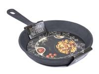 Сковорода чугунная с ручкой 25*4,5 см, Легмаш