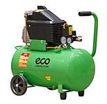 Компрессор ECO AE-501-4 (260 л/мин, 8 атм, коаксиальный, масляный, ресив. 50 л, 220 В, 1.80 кВт)