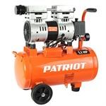 Компрессор PATRIOT WO 24-160  (160 л/мин, 8 атм, поршневой, безмасляный, ресив. 24 л, 220 В, 1,1 кВт)