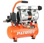 Компрессор PATRIOT WO 10-120  (120 л/мин, 8 атм, поршневой, безмасляный, ресив. 10 л, 220 В, 0,65 кВт)
