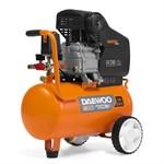 Компрессор масляный коаксиальный DAEWOO DAC24D ( 24л., 250 л/мин, 8 бар, 1,85кВт, 23 кг, прямой привод)