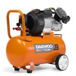 Компрессор масляный коаксиальный DAEWOO DAC60VD (60л., 410 л/мин, 8 бар, 2.4 кВт, 38 кг, 2-х поршневой, прямой привод)