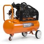 Компрессор масляный ременной DAEWOO DAC 90B (90л, 360 л/мин, 8 бар, ременной привод, 2 поршня, 220 В/ 50 Гц; вес 70 кг.