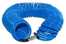Шланг полиуретановый спиральный с фитингами FUBAG 8х12 15 м