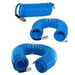 Шланг полиуретановый спиральный с фитингами FUBAG 8х12 5 м