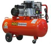 Компрессор HDC HD-A101 (396 л/мин, 10 атм, ременной, масляный, ресив. 100 л, 220 В, 2.20 кВт)