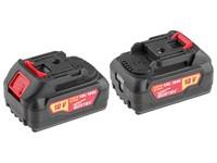 Аккумулятор WORTEX CBL 1840 18.0 В, 4.0 А/ч, Li-Ion (18.0 В, 4.0 А/ч, индикатор заряда, обрезиненный корпус) ONE FOR ALL