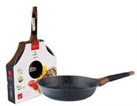 Сковорода 28*6 см алюминиевая антипригарная с мраморным покрытием Greblon Induction, VINZER