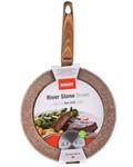 Сковорода 28*5,3 см металлическая с антипригарным покрытием River Stone Brown, BANQUET