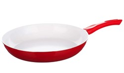 Сковорода 24*4,6 см алюминиевая с керамическим покрытием Red Culinaria, BANQUET