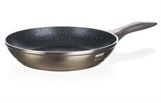 Сковорода 28*5,3 см металлическая с антипригарным покрытием Metallic Platinum, BANQUET