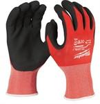 Перчатки рабочие с защитой от порезов уровень 1 MILWAUKEE 10/XL