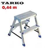 Двухсторонняя 0,44 метра, лестница-стремянка TARKO