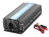 Инвертор автомобильный Solaris P 500 (12В/220В, 500Вт)