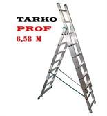 3-х секционная 6,58 метра, лестница-трансформер TARKO PROF