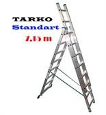 3-х секционная 7,15 метра, лестница-трансформер TARKO STANDART