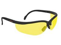 Защитные спортивные очки,поликарбонат , УФ защита, защита от царапин, янтарь