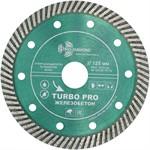 Диск алмазный 125*22.23*10 Turbo PRO железобетон Trio Diamond