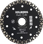 Диск алмазный 125*22.23*10 Super Turbo Hilberg