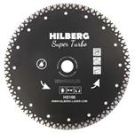 Диск алмазный 230*22.23*10 Super Turbo Hilberg