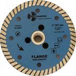 Диск алмазный 105*10*М14 Turbo Hot press Гранит с фланцем Trio Diamond