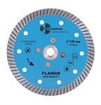 Диск алмазный 125*10*М14 Turbo Hot press Гранит с фланцем Trio Diamond