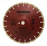 Диск алмазный 300*25,4*10 Industrial Hard Hilberg