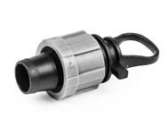 Заглушка для ленты оросительной 16 мм с фиксацией